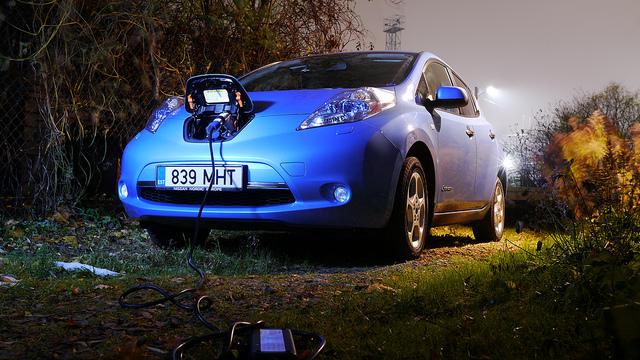Nissan Leaf via flickr.com